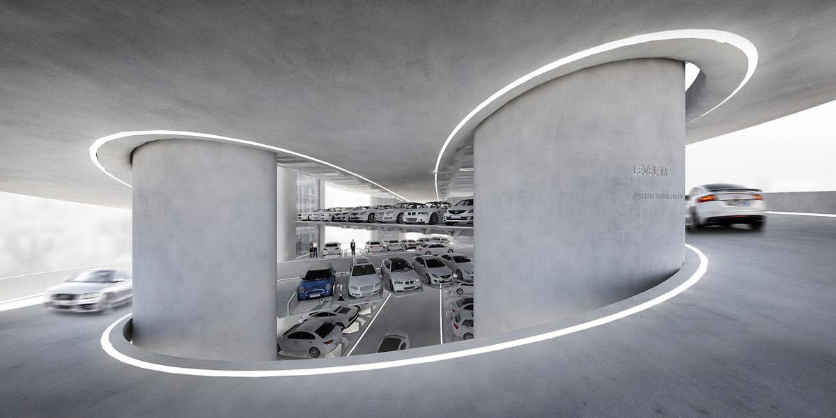 Parking Tower Hong Kong Xing Design